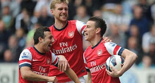 Video Gol Newcastle United vs Arsenal 19 Mei 2013