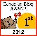2012 Canadian Blog Award Humor Winner