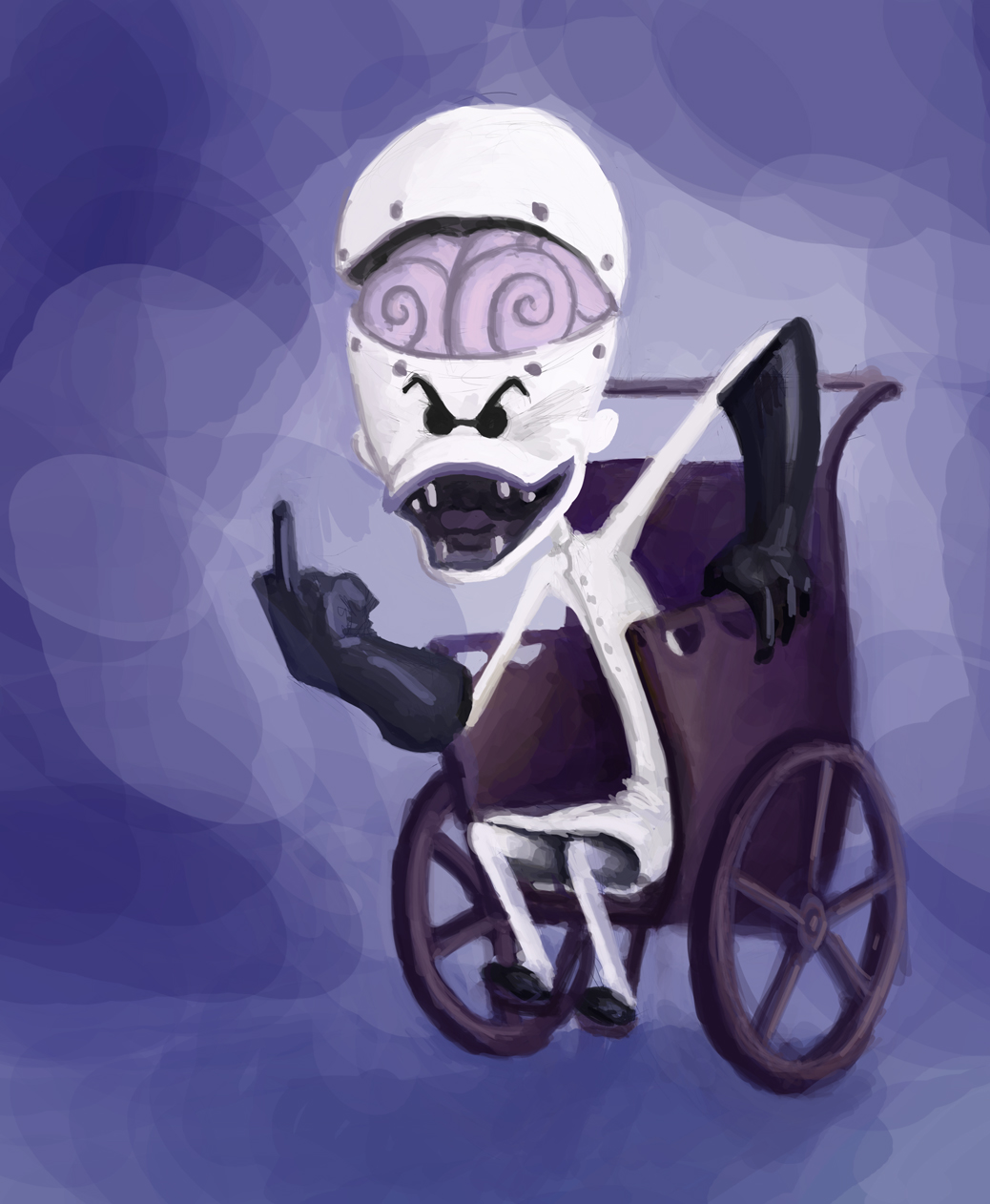 PC Illustration Quest: the Nightmare Before Christmas: Dr. Finklestein