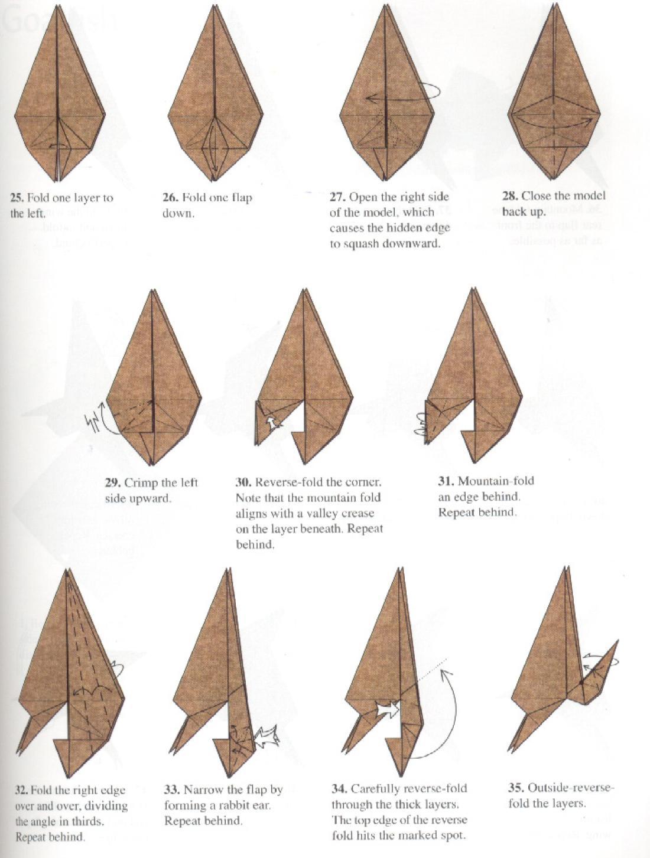 Para Que No Digais Os Traigo Variedad Aqui Teneis Otros Diagramas De Otro Modelo Pteranodon Estos Pertenecen A Un Robert Lang Y