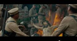 Quema de Imágenes por el Ejército Mexicano y profanación de Templos