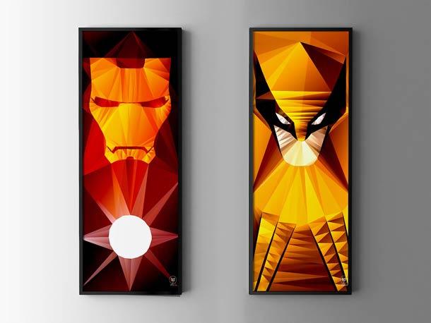 Homem de Ferro - Wolverine - Arte de Lise Halluin