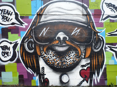 Lo Fi Performance Art - Mural