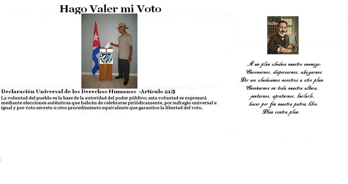 Hago Valer mi Voto