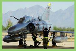 Ejercicios de entrenamiento entre la FAC y la Fuerza Aérea de los EEUU