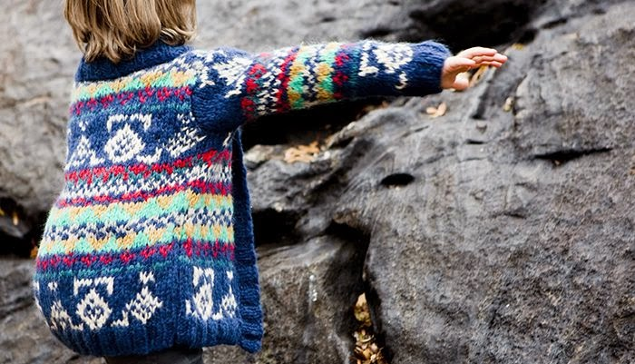 Chunky knits by children's clothes label HBB Industria Argentina for Autumn 2014