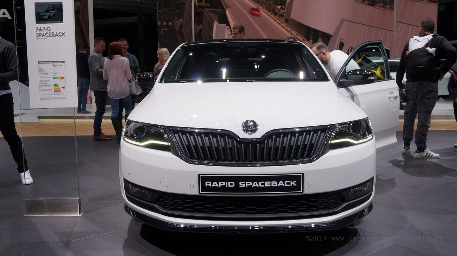 Skoda Rapid Spaceback (facelift)