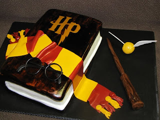 Unique Harry Potter Birthday Cake