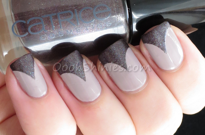 Catrice Be Natural with Catrice Steel My Heart and BPS tip guides.