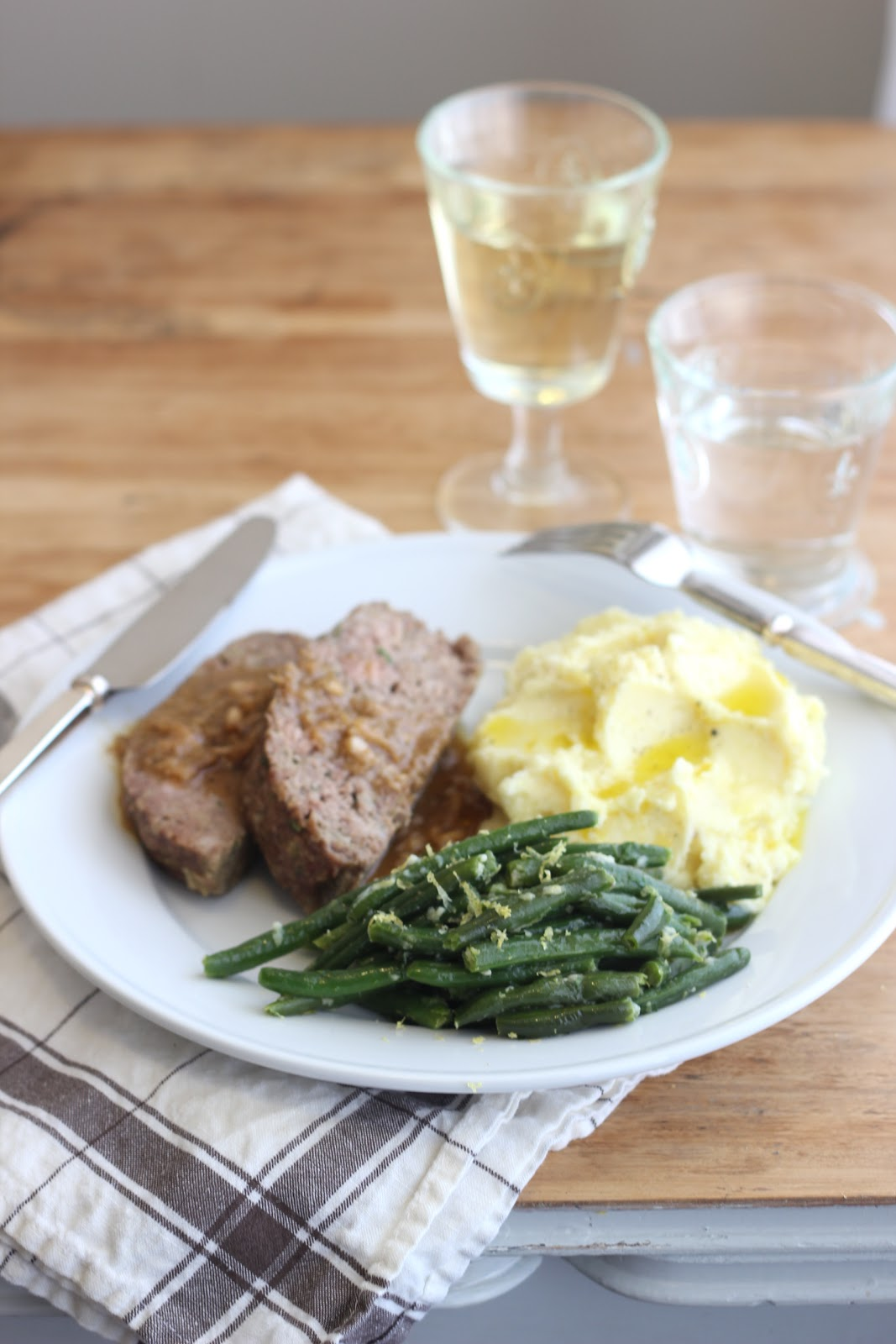 jenny steffens hobick 1770 house meatloaf u0026 green beans gremolata