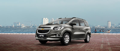 New Chevrolet Spin Indonesia