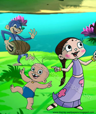 Chota Bheem Cartoon Art Picture