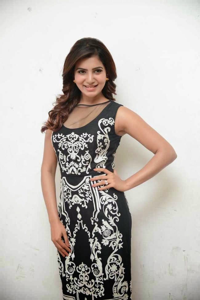 Samantha at Autonagar Surya Movie Press Meet