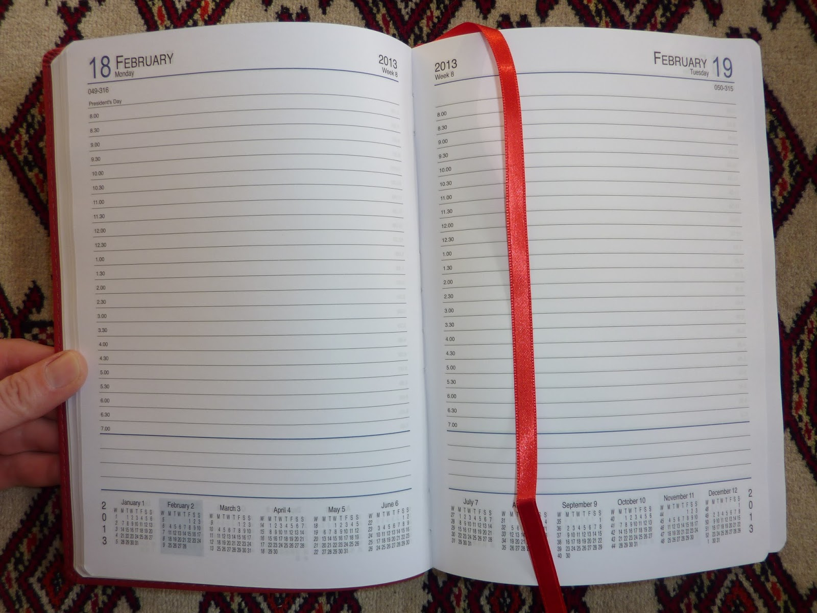 Plannerisms The Showdown Day Per Page Diary Vs Undated