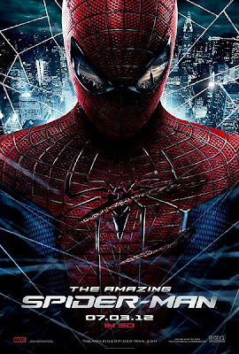 the amazing spider-man poster, 3d imax movie