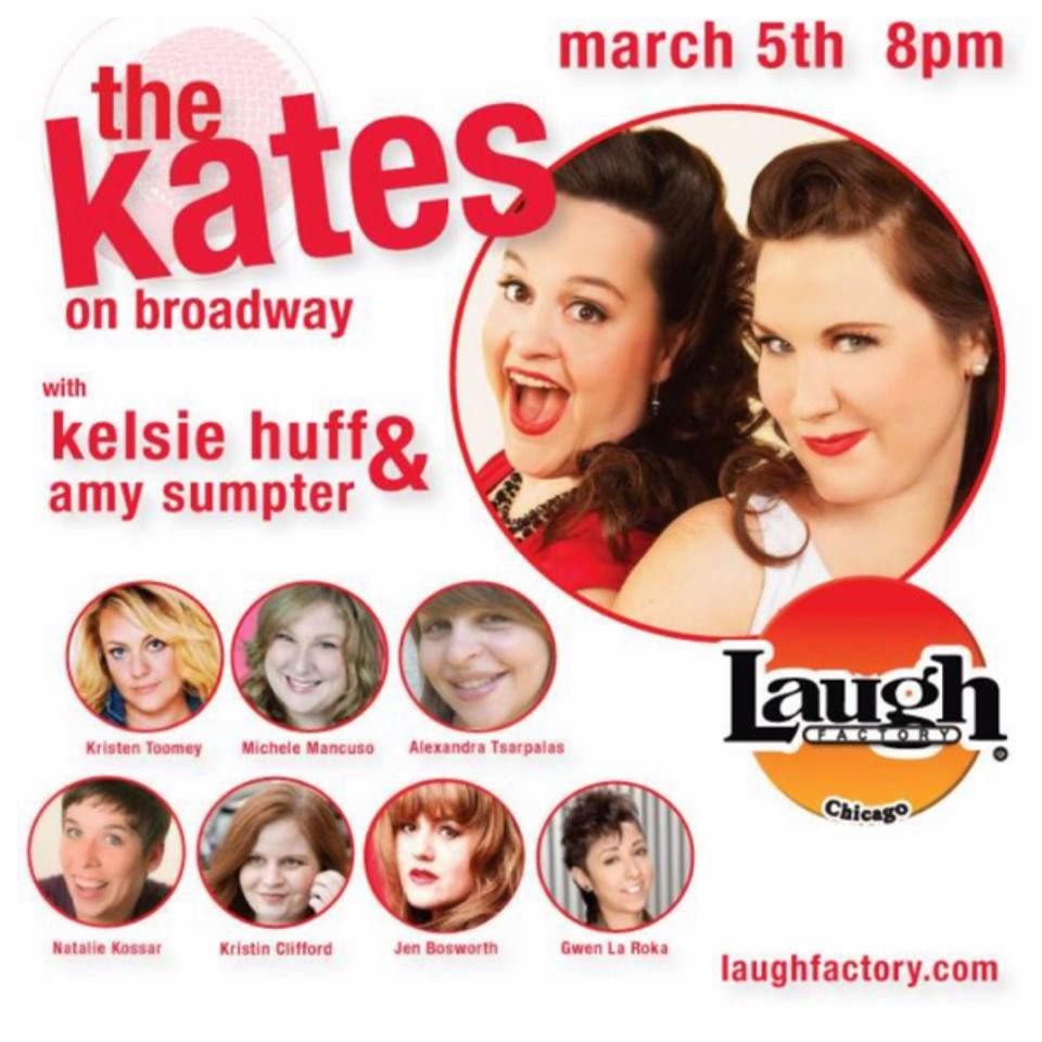 March 5th @ The Laugh Factory!