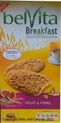 Belvita breakfast biscuit fruit and fibre
