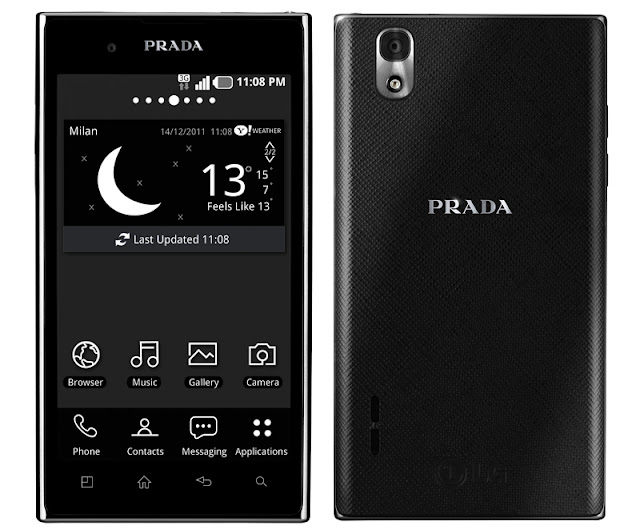 prada phone by lg 3.0 android specs features price review availability promo sale in the philippines