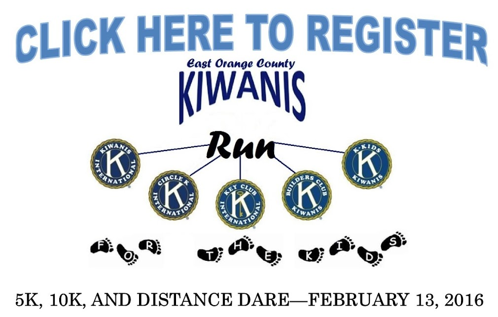 Click Here to Register for the Kiwanis Run for the Kids on February 13th