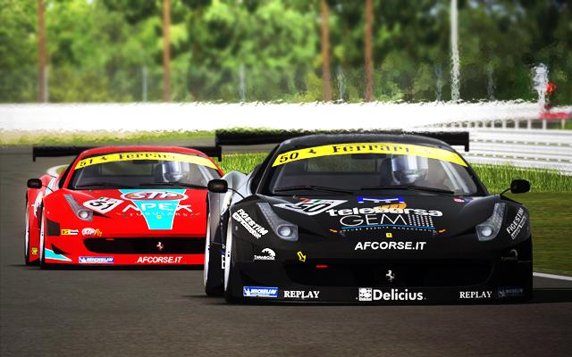 Pack de ferrari para rFactor FIA GT 2010