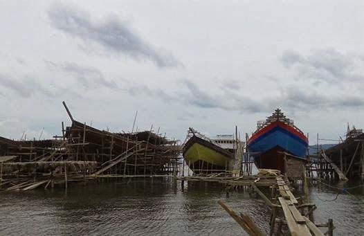 Hutan Tanjung Peropa Jadi Sasaran Ilegal Logging Industri Kapal