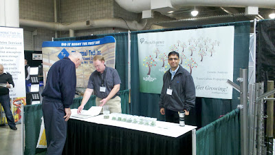 Phytelligence booth at the Hort Show in Yakima