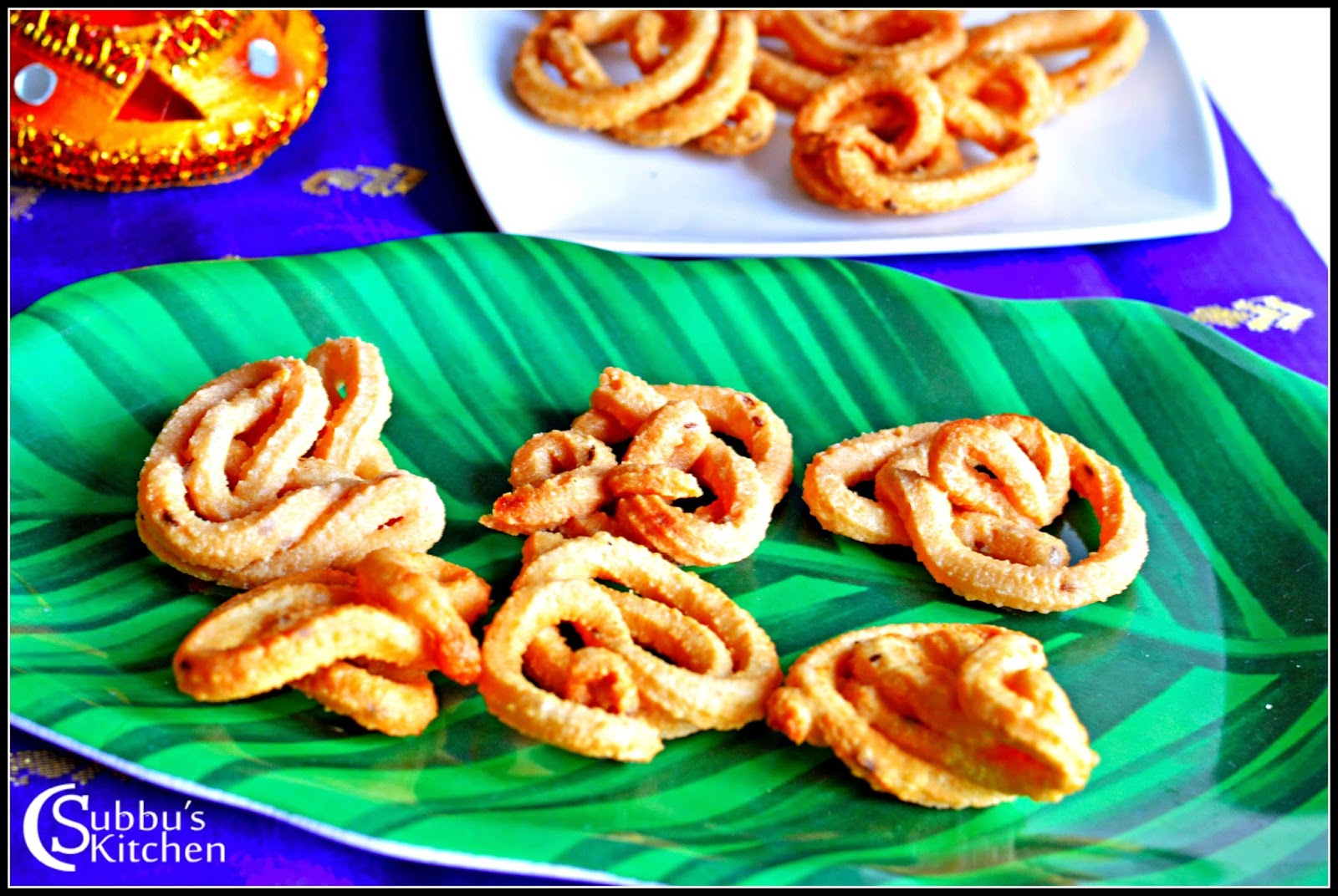 Coconut Milk Murukku Recipe