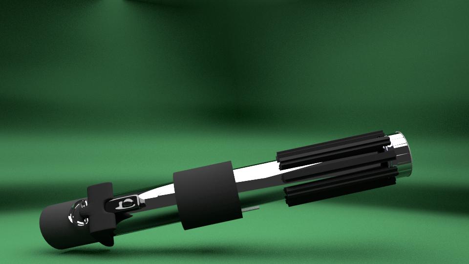 ONIRICUM: Sable de luz de Darth Vader/Darth Vader light saber