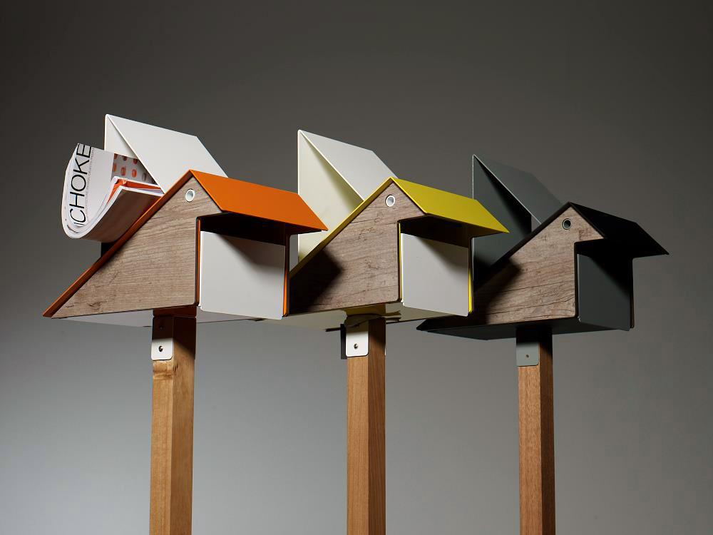 Iiiinspired i like the idea bird shaped letterboxes for Boite a couture design