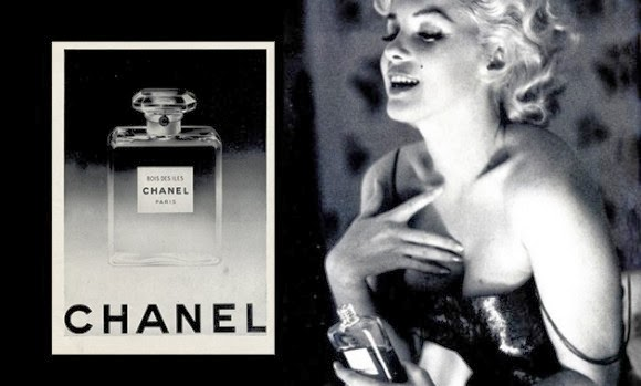 Luxury Life Design: Marilyn Monroe for Chanel No.5