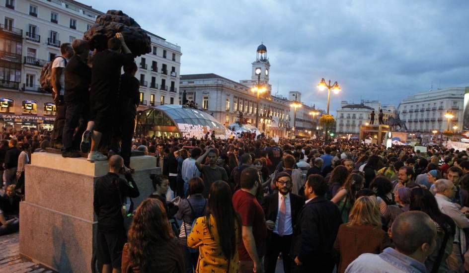 Segura en verde un rural indignado for Puerta del sol hoy