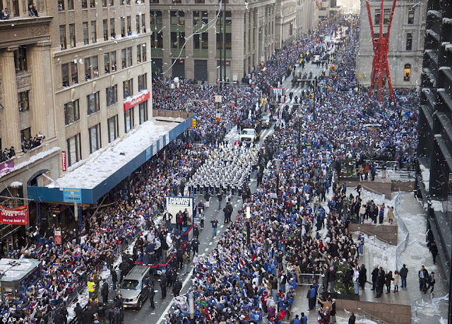Super bowl parade 2013