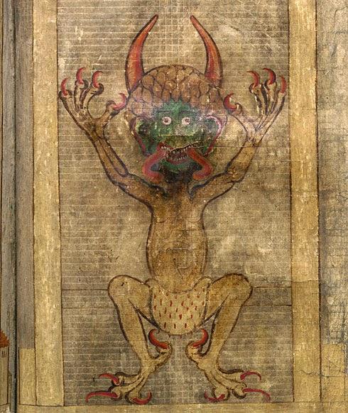 codex gigas il diavolo