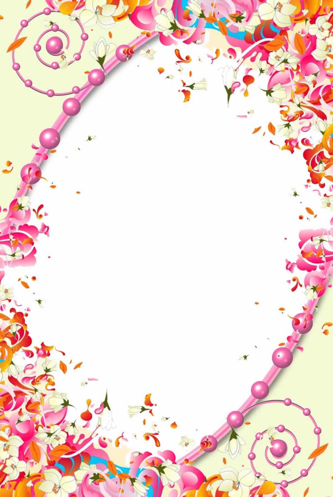 flower frame  png frame