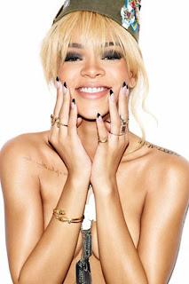 Rihanna Esquire Covershoot