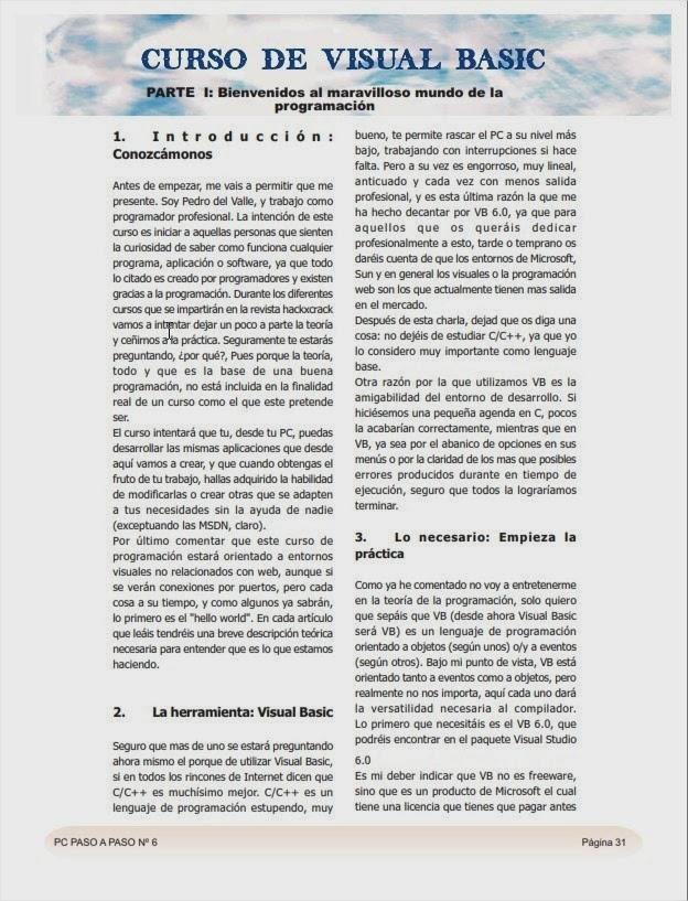 Revistas HackXCrack 30 Revistas Para los que quieren
