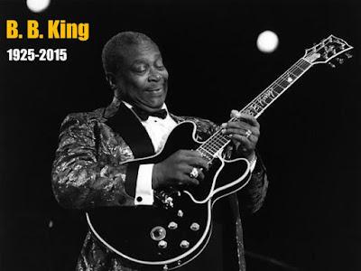 B.B. King con su guitarra Lucille