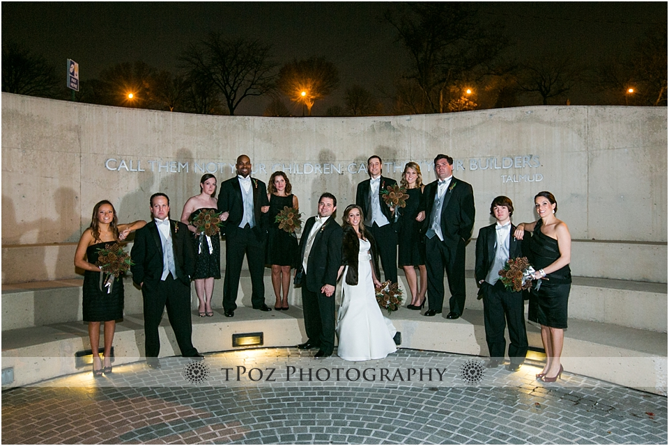 American Visionary Art Museum Wedding Bridal Party