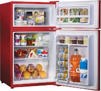 geld besparen door je eten in de koelkast te ontdooien