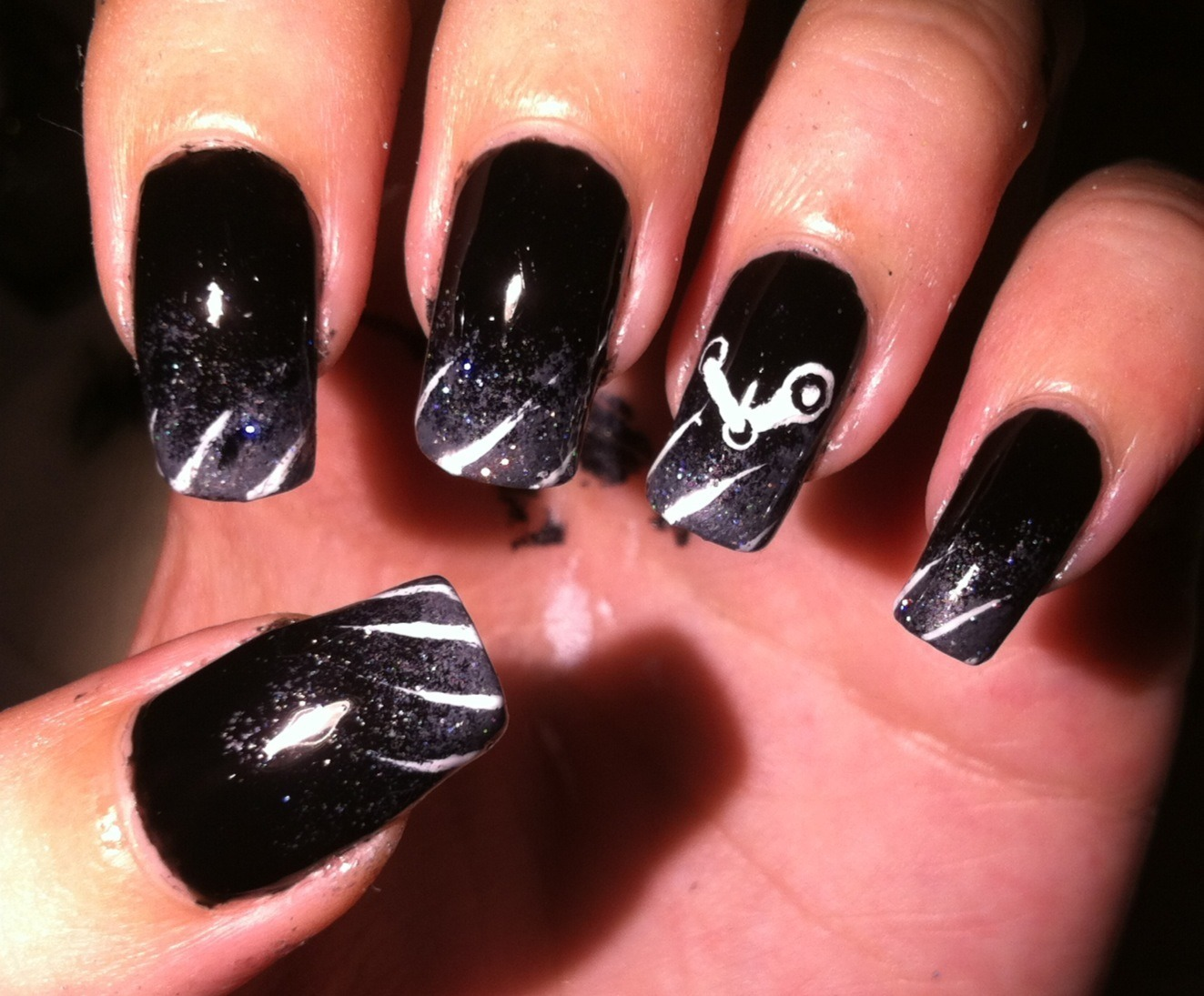 Nerdy nails!: August 2012