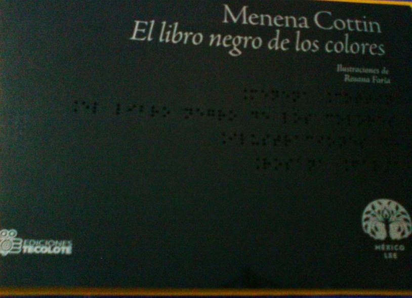 El libro negro de los colores - Menena Cottin & Rosana Faria | Día ...