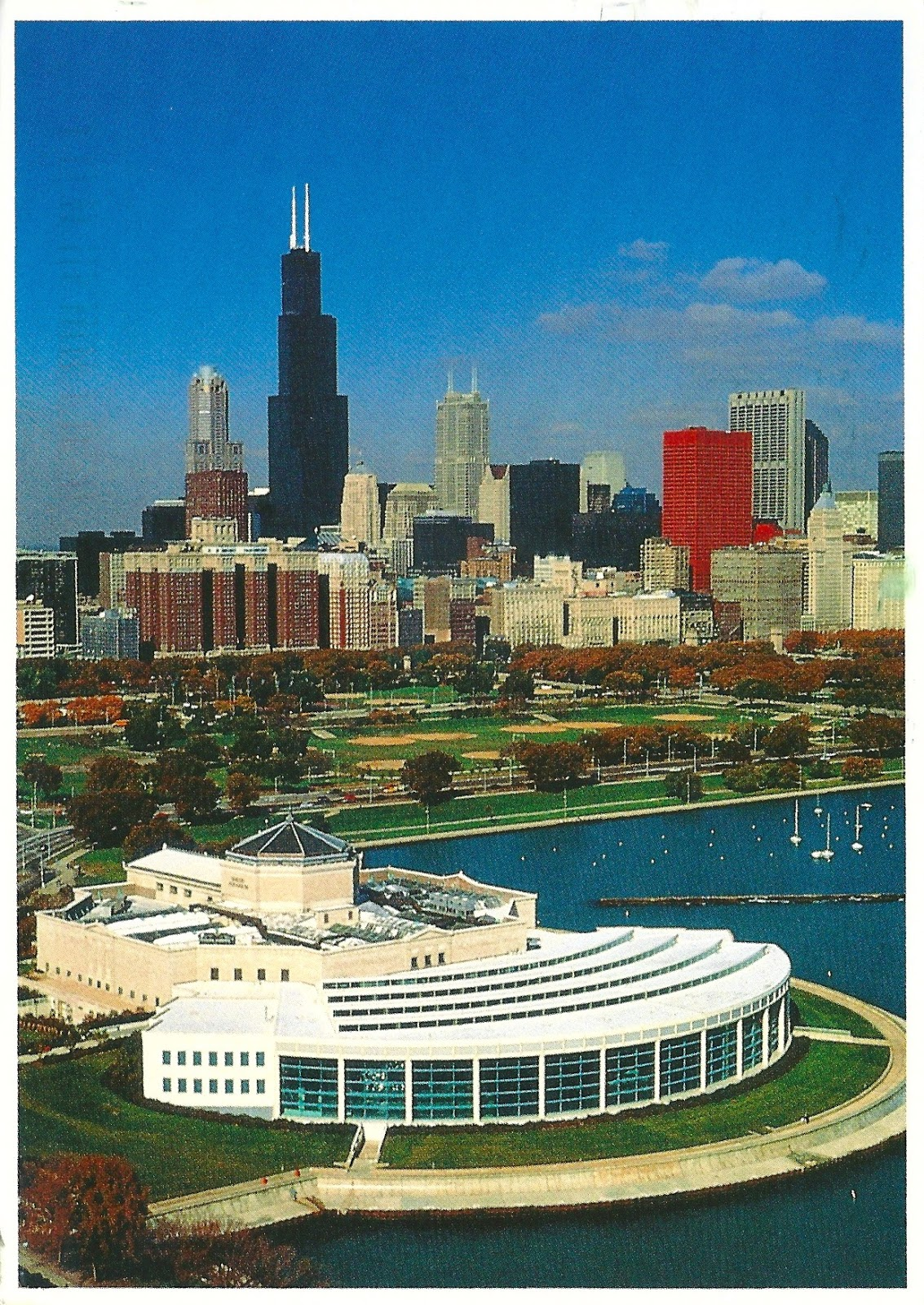 My Favorite Views Aerial View Of Shedd Aquarium In