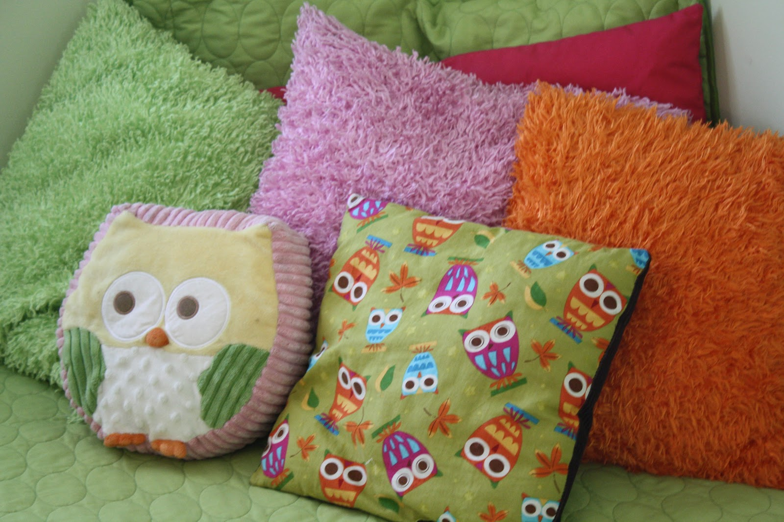 Sunny Simple Life: Owl Themed Bedroom on a Budget