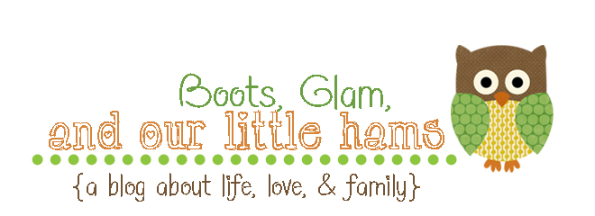 Boots, Glam and our Little Hams
