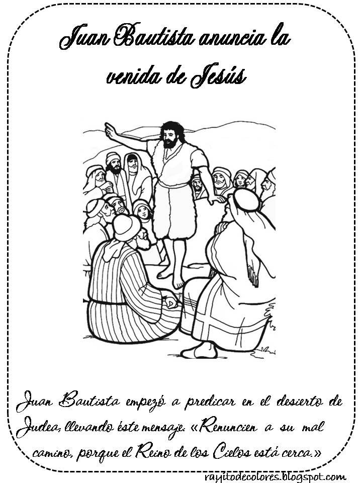 Compartiendo por amor: Juan Bautista anuncia la venida Jesús