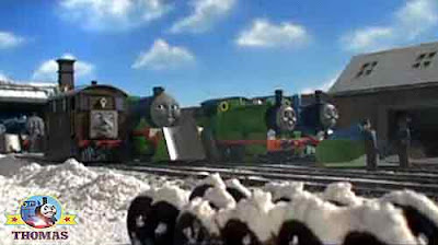 Fat Controller winter fashion clothing Thomas the train and friends Henry green engine snowplough
