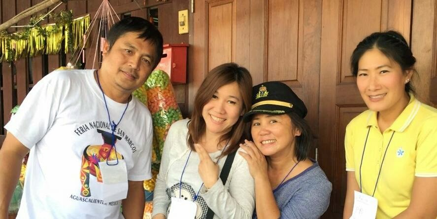 New PR Team of Professional Guide Association of Thailand