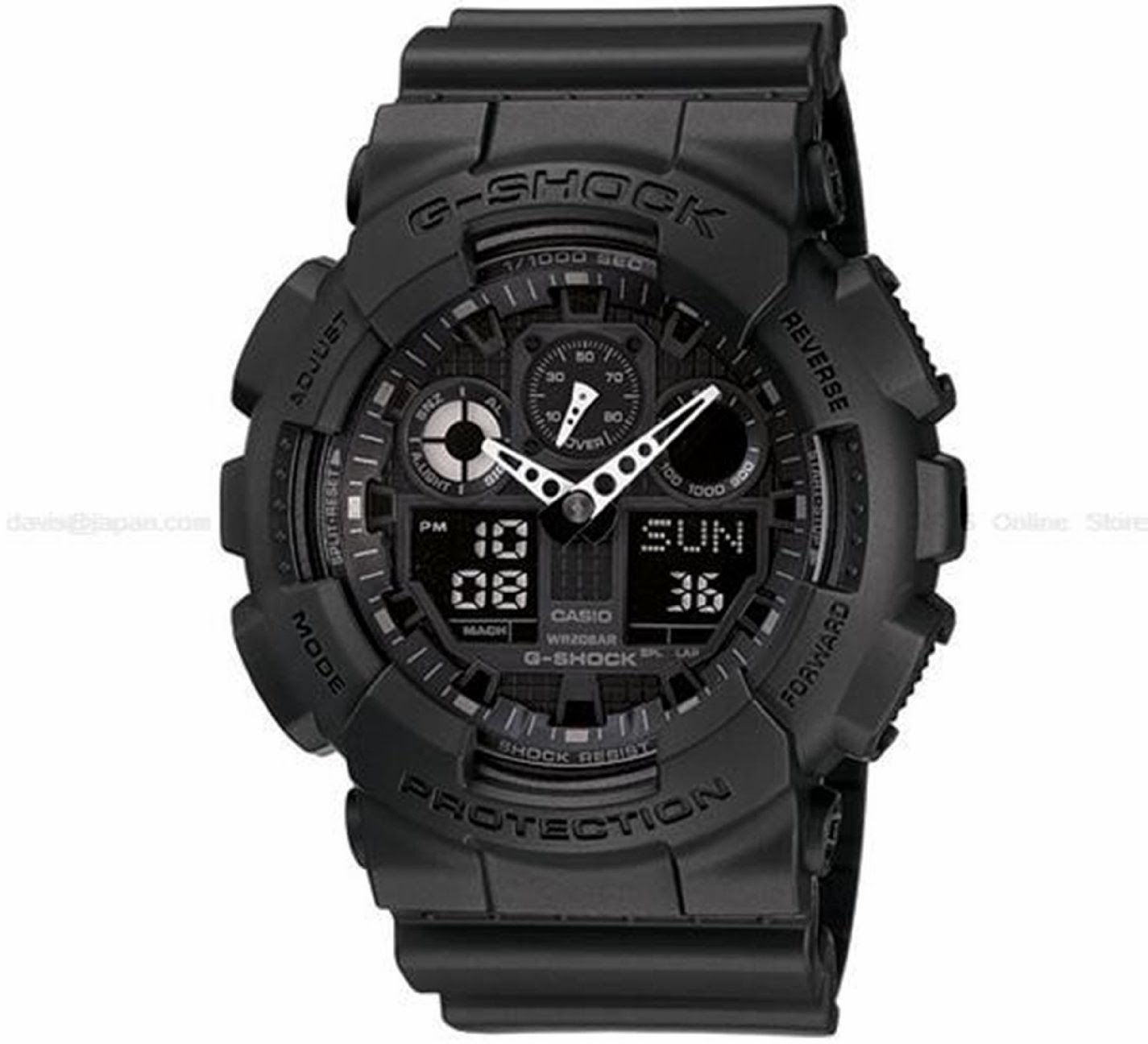 Casual Best Casio Watch Reviews G Shock Top Black Watches