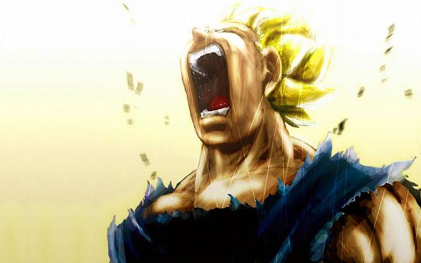 Vegeta Super Saiyan Scream 9g
