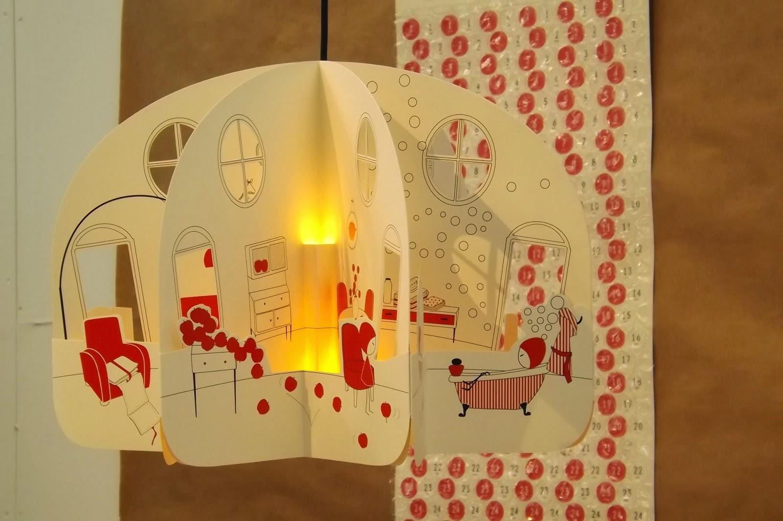 Lampadario Di Cartapesta : Shaulalala un lampadario d ocra